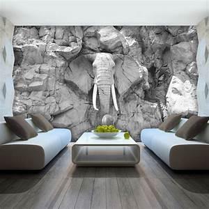 3d Tapete Schlafzimmer : die besten 25 tapete steinoptik 3d ideen auf pinterest ~ Lizthompson.info Haus und Dekorationen
