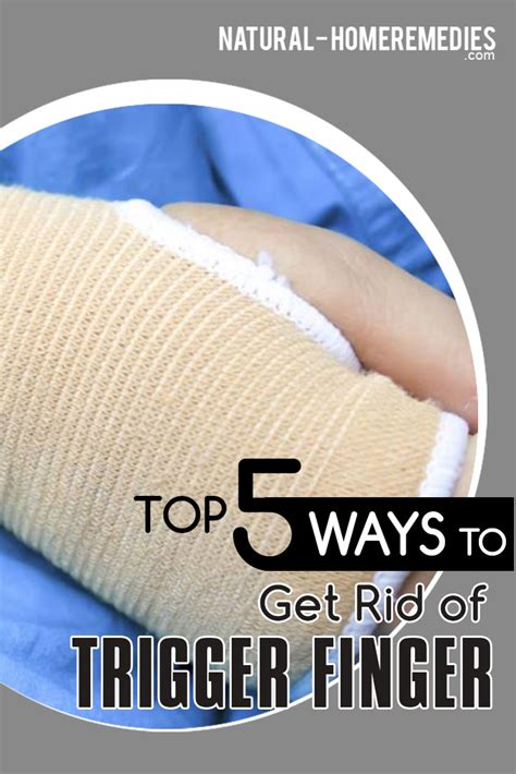 5 Cures For Trigger Finger  Best Treatment For Trigger