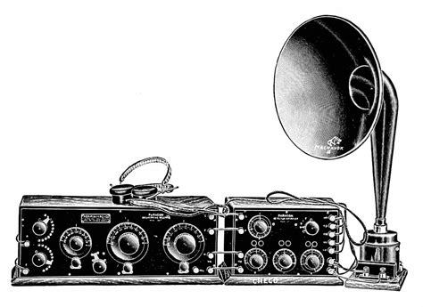File:Early 1920s radio and horn speaker.png - Wikimedia ...