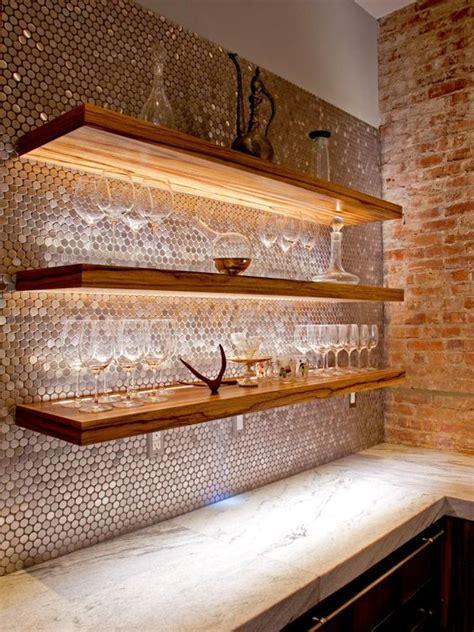 copper kitchen tiles 27 trendy and chic copper kitchen backsplashes digsdigs 2583