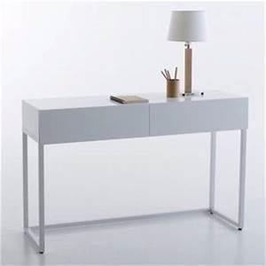 Console Scandinave Pas Cher : console acier meubles comparer les prix sur ~ Teatrodelosmanantiales.com Idées de Décoration
