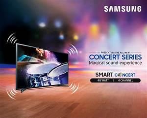 Samsung Concert Series TV in Nepal; TVs With 40W Speaker
