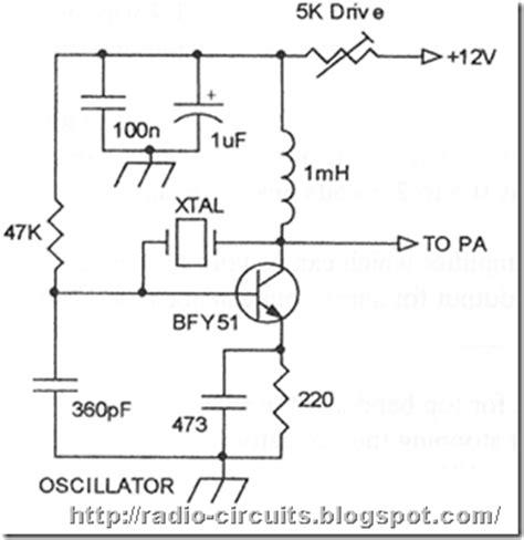 Radio Circuits Blog Two Transistor Marsh Transmitter For