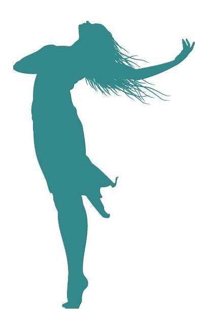 Silhouette Woman Praise Dance Dancer Clipart God