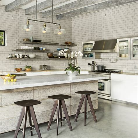 industrial style kitchen designs industrial style interiors ideal home 4678