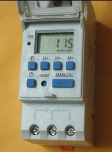 Microcomputer Electronic Programmable Digital Timer Switch
