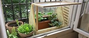 Mini Serre De Balcon : fabriquez une mini serre en polycarbonate pour cultiver ~ Premium-room.com Idées de Décoration