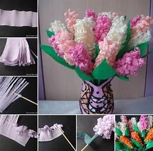 Offrir Un Bouquet De Fleurs : offrir des fleurs papier cr pon id es pour la f te des m res fleur en ruban fleur papier ~ Melissatoandfro.com Idées de Décoration