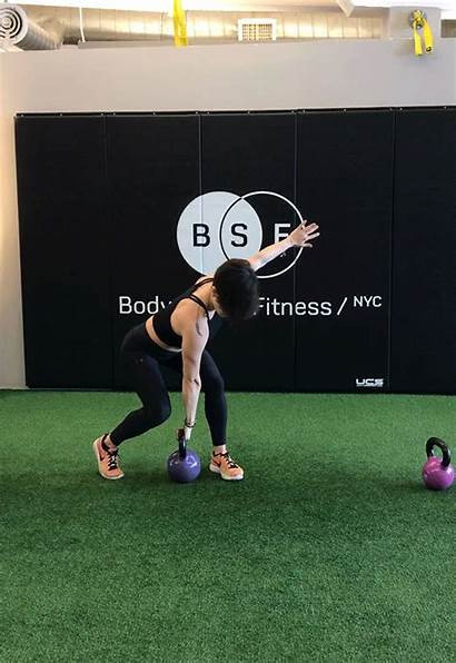 Kettlebell Clean Exercises Cross Workout Total Impressive
