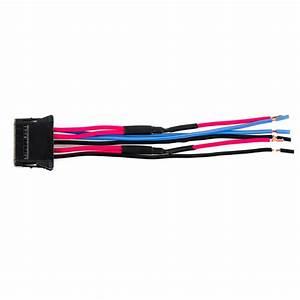Heater Blower Fan Resistor Plug Wiring Harness Loom For