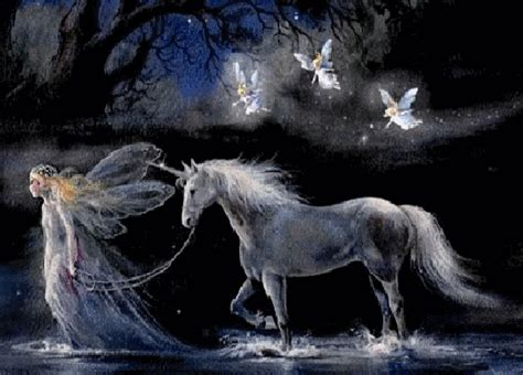 Fairies And Wallpapers Animated - unicorns and fairies animated with and