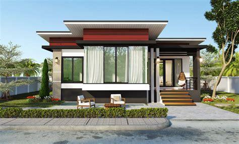 modern two bedroom house plans modern 2 bedroom single story house pinoy house plans 19289 | Modern 2 Bedroom Single Story House 1