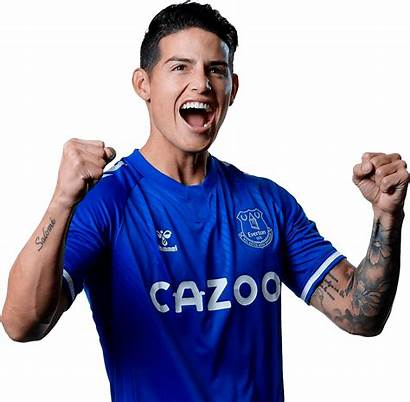 Rodriguez James Render Everton Footyrenders Premier League