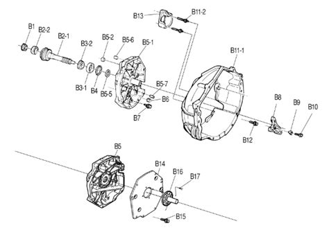 05 Corvette Part Diagram by Tremec T56 Shaft Small Tapered Bearing Input Shaft