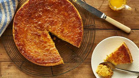 orange chickpea cake  spiced syrup kitchen