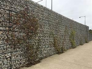 Mur En Gabion : rennes 35 axe est ouest gabions ~ Premium-room.com Idées de Décoration