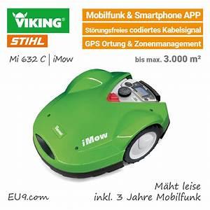 Mähroboter Mit Gps : viking mi 632 c rasenroboter mit mobilfunk gps g nstig bei eu9 kaufen ~ Buech-reservation.com Haus und Dekorationen