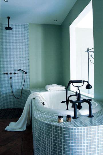salle de bain mosaique verte mosaique verte salle de bain affordable livraison