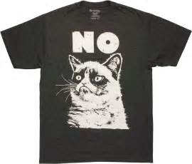grumpy cat t shirt grumpy cat no t shirt sheer