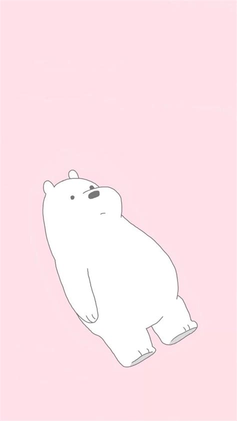 bare bears ice bear iphone hd wallpapers wallpaper cave