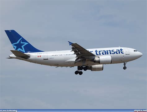 air transat login airpics net c gtsy airbus a310 300 air transat large size