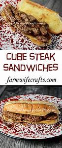 cube steak sandwiches the farmwife crafts