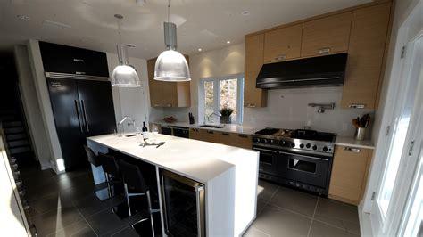 sotto black white wood modern kitchen ateliers jacob