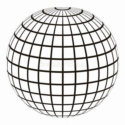 Meridian Globe Globo Parallel Grid Kugel Coordinate