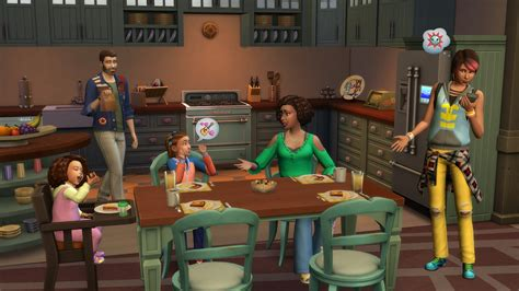 The Sims 4 Parenthood Game Pack New Renders And