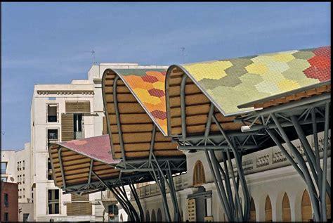 santa caterina market embt barcelona  architect