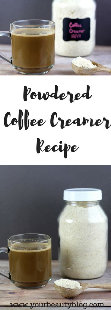 Learn how to make healthy and homemade coffee creamer that you can add to your morning cup of coffee. Homemade Powdered Creamer | Recipe | Homemade coffee creamer, Coffee creamer recipe, Powdered ...
