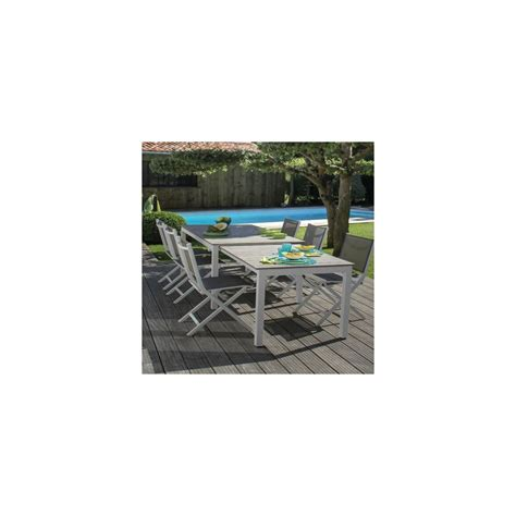 chaises pliantes but best salon de jardin blanc et taupe ideas awesome