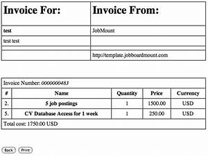 services purchase payments jobmount With credit card invoice