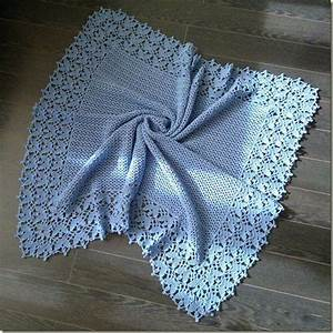 Crochet Baby Blanket   Diagram