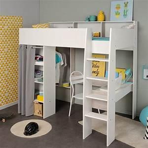 Lit Mezzanine Dressing : lit gain de place le choix malin pour votre chambre ~ Premium-room.com Idées de Décoration