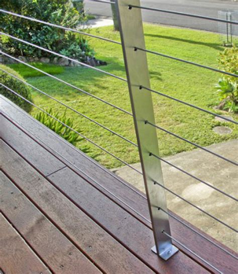 Options For Deck Railings by Diy Balustrade Posts Stainless Steel Balustrading