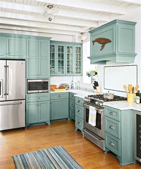 green canisters kitchen teal kitchen cabinets on cottage