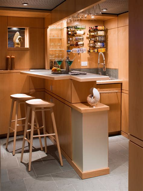 Simple Bar by Home Bar Designing
