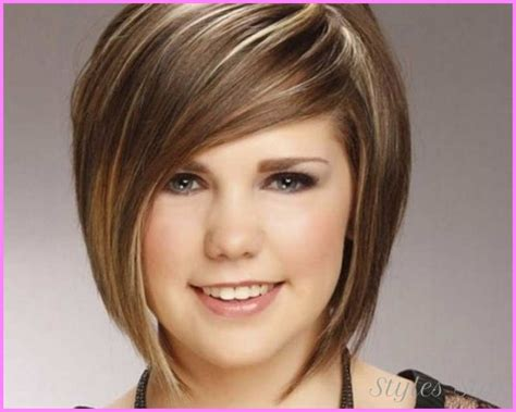 Short Haircuts For Teenage Girls Round Faces