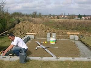 Pose Abri De Jardin Sur Dalle Gravillonnée : construction de mon abri de jardin ~ Dailycaller-alerts.com Idées de Décoration
