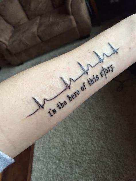 heartbeat tattoos  men heart tattoos  men