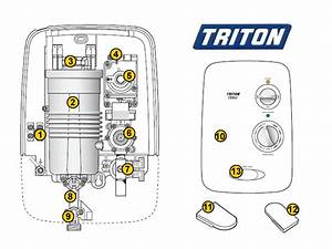 Triton T80si Shower Spares And Parts