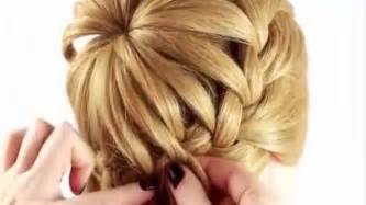 coiffure mariage facile apprenez cette coiffure pour votre fille coiffure simple et facile
