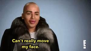 Can't Really Move My Face GIF - Botox Movemyface Face GIFs ...