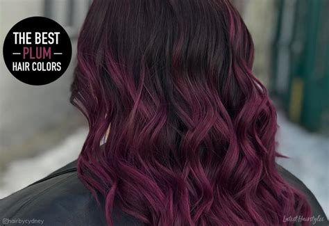16 Plum Hair Color Ideas That Are Totally Trending In 2019