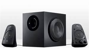 Logitech Z623 2 1 Speaker System With Subwoofer  Thx