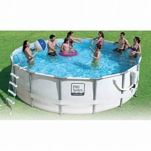 Piscine Tubulaire Hors Sol : piscine hors sol tubulaire pro series ~ Melissatoandfro.com Idées de Décoration