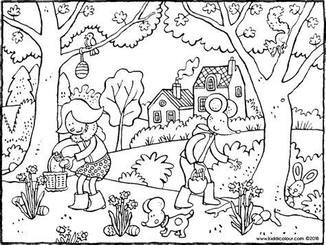 Kleurplaat De Natuur by Kleurprenten Die Er Echt Toe Doen Kiddikleurprenten