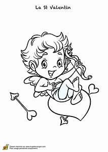 Dessin Saint Valentin : coloriage saint valentin l ange cupidon ~ Melissatoandfro.com Idées de Décoration