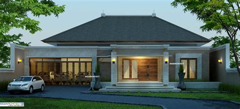 desain rumah model villa gambar puasa